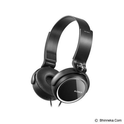 SONY Headphone [MDR-XB 250] - Black - Headphone Portable
